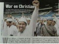 Guerre aux Chrétiens