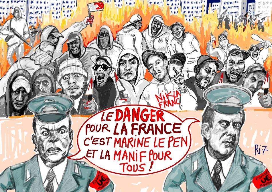 Ri7taubira Valls racaille